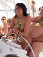 Picture exhibitionist party with mature woman naked sitting on dick
