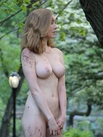 Picture nude dirty girl in public park