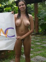 Picture nude girls participating at a public party