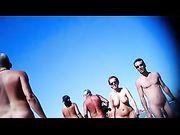 Nudists Women Filmed at Beach